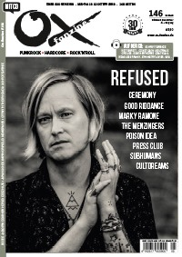 chronique dans le magazine allemand OX